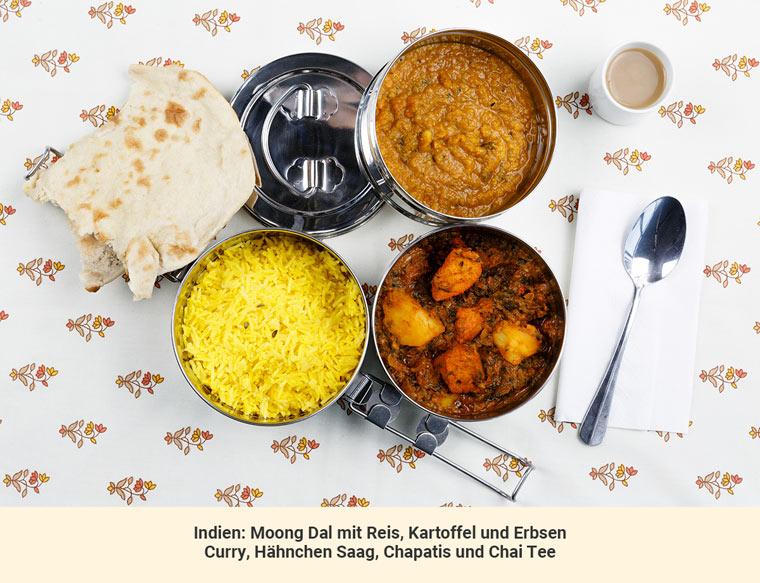 Mittagessen Indien