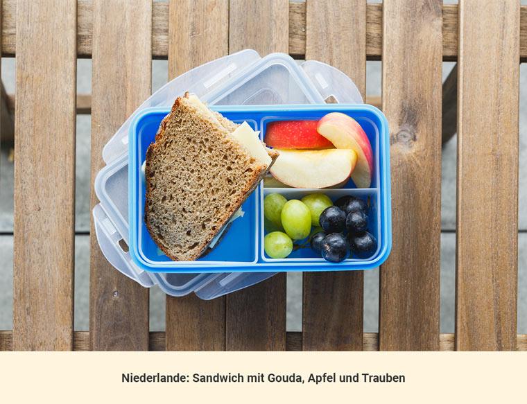 Mittagessen Niederlande