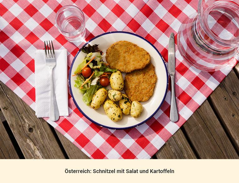 Mittagessen Österreich