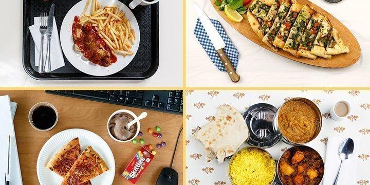 Mittagspause weltweit: Das essen Menschen im Büro