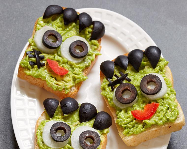 Toast mal anders - in diesem Look essen Kinder auch mal gerne außergewöhnliche Kombinationen.