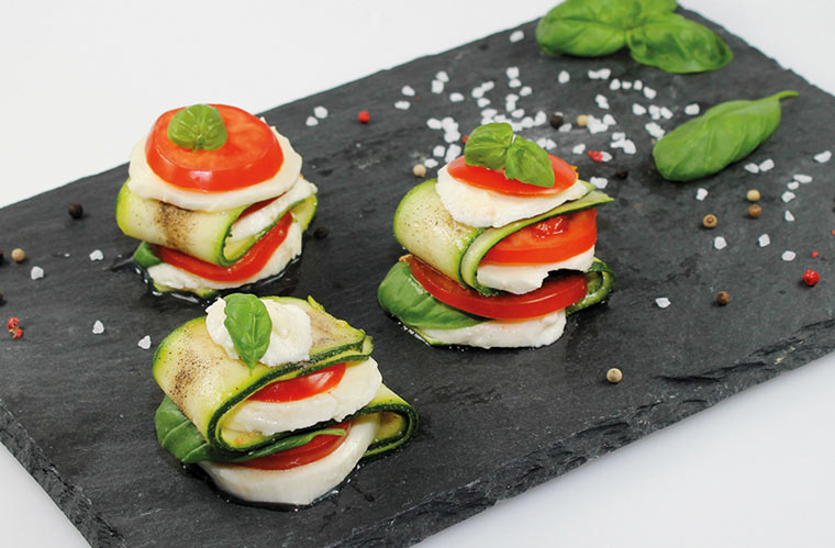 Vegetarisch grillen mit Käse