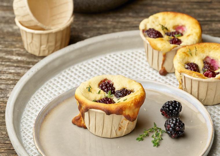 Muffin Einmal-Backformen