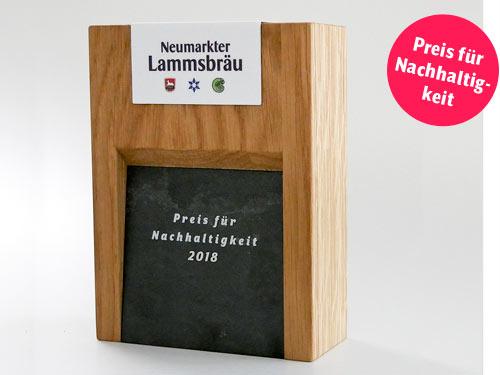 Nachhaltigkeitspreis Neumarkter Lammsbräu