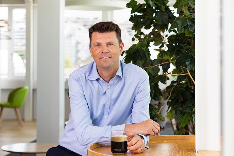 Guillaume LeCunff, CEO Nespresso: