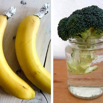 So bleiben Obst und Gemüse länger haltbar!