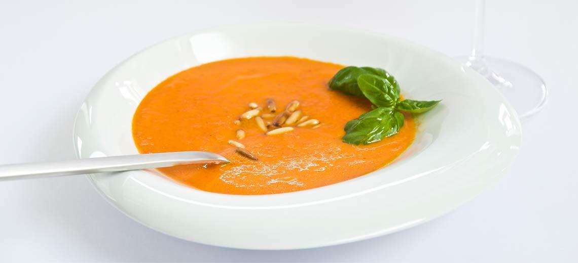 Paprika-Cremesuppe – für eine schlanke Linie