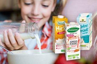 Pflanzlicher Milchersatz