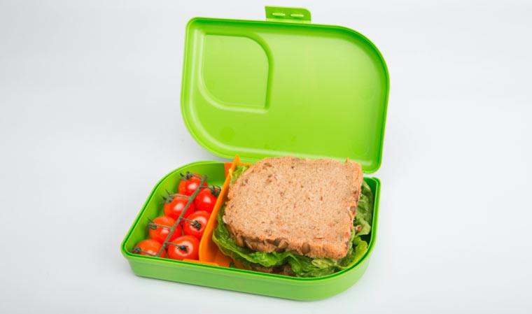 Plastikfreie Brotbox