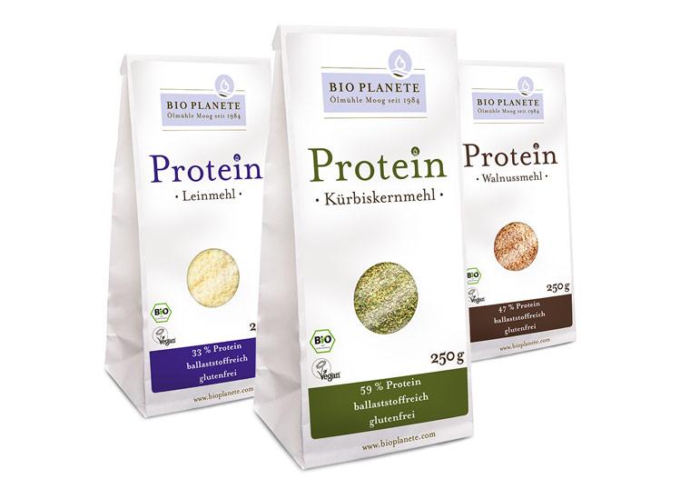 Vegan, glutenfrei, ballaststoffreich – die neuen Protein-Mehle von BIO PLANÈTE