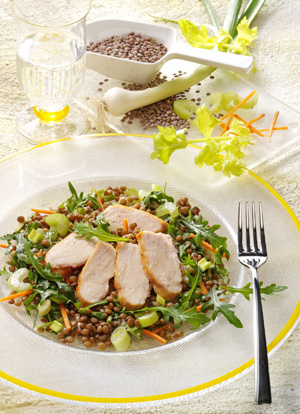 Linsen sind ballaststoffreiche Lebensmittel mit viel Eiweiß und vielen Mineralien