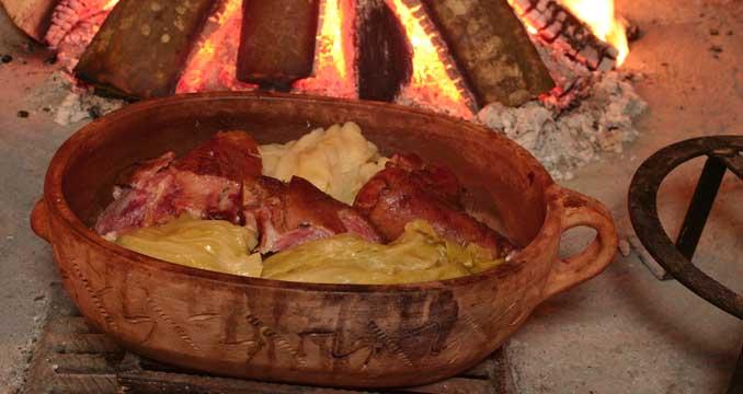 Römertopf kochen