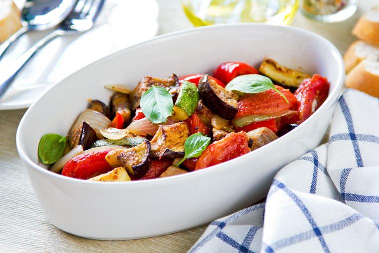 Rezept: Paprika Zucchini Ratatouille