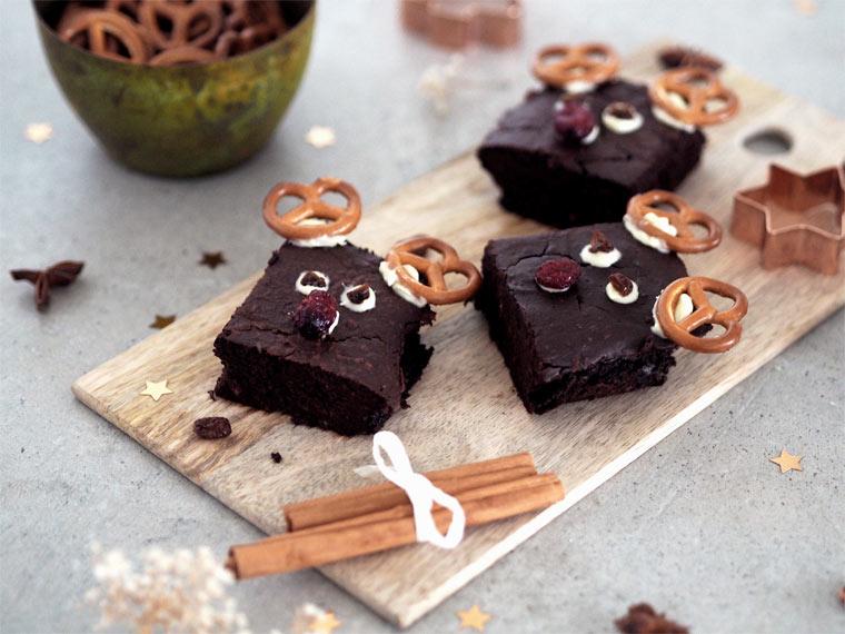 Rentier-Brownies