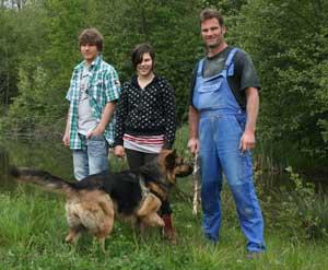 Öma Leupolz Familie Roggenkamp