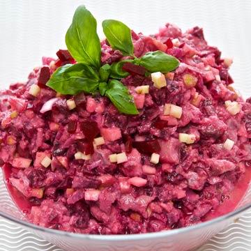 Matjessalat mit Ingwer, Chili & Joghurt