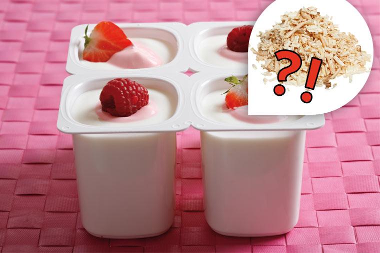 Lebensmittel-Lügen: Sägespäne im Erdbeer Joghurt