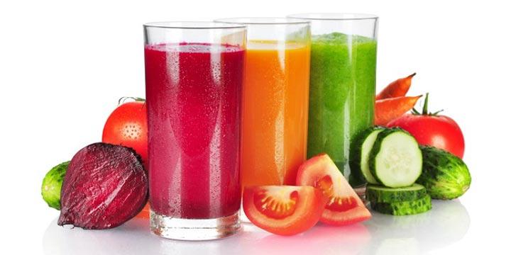 Detoxing mit Gemüsesäften