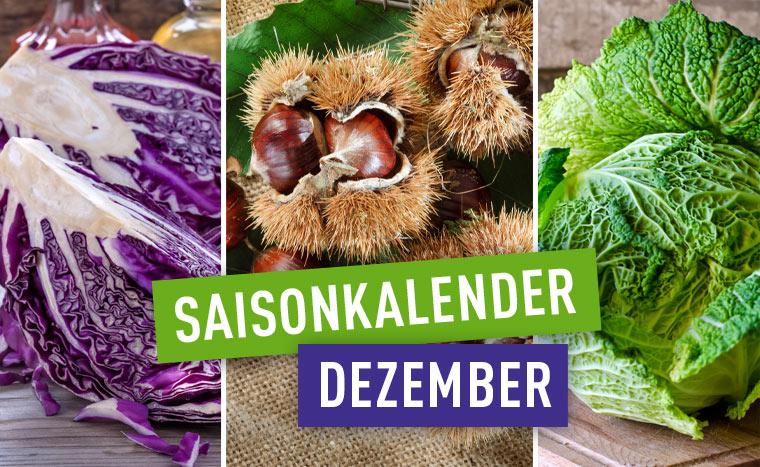 Regional und saisonal einkaufen im Dezember