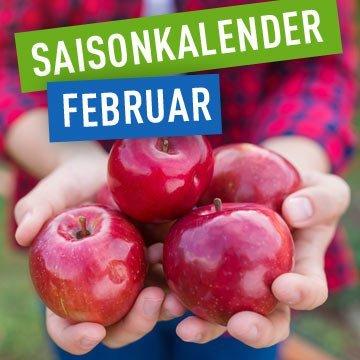 Saisonal kochen im Februar: mit Zwiebeln, Äpfeln & Kartoffeln