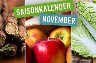 Regionaler Saisonkalender