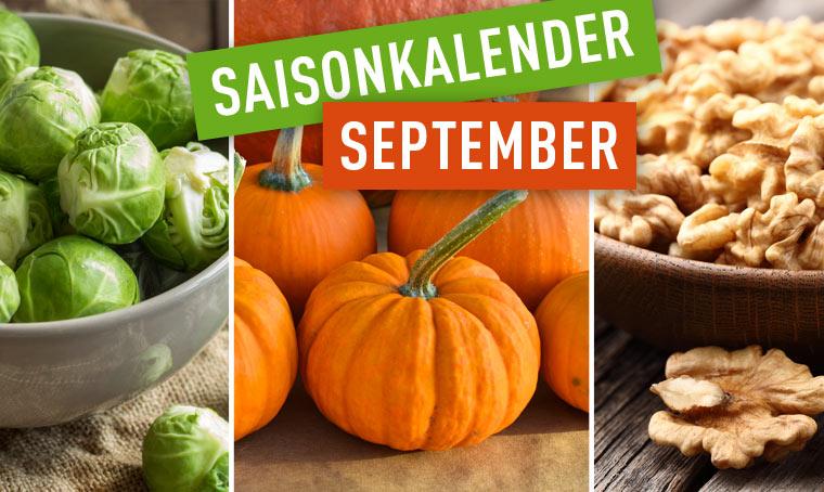 Heimische Ernte im September