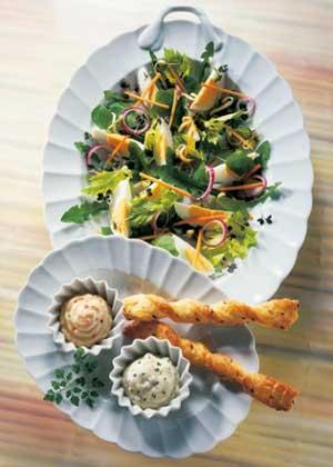 Salat Löwenzahn