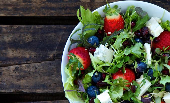 Rohkost Salate