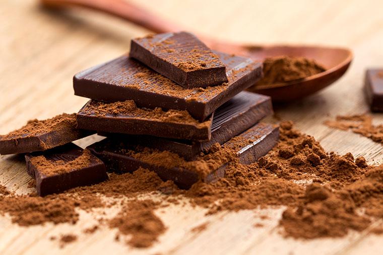 Geniesen Sie zuckerfreie Schokolade ohne Zusatzstoffe