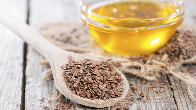 Leinsamenöl wirkt positiv und sekend auf den Cholesterinspiegel