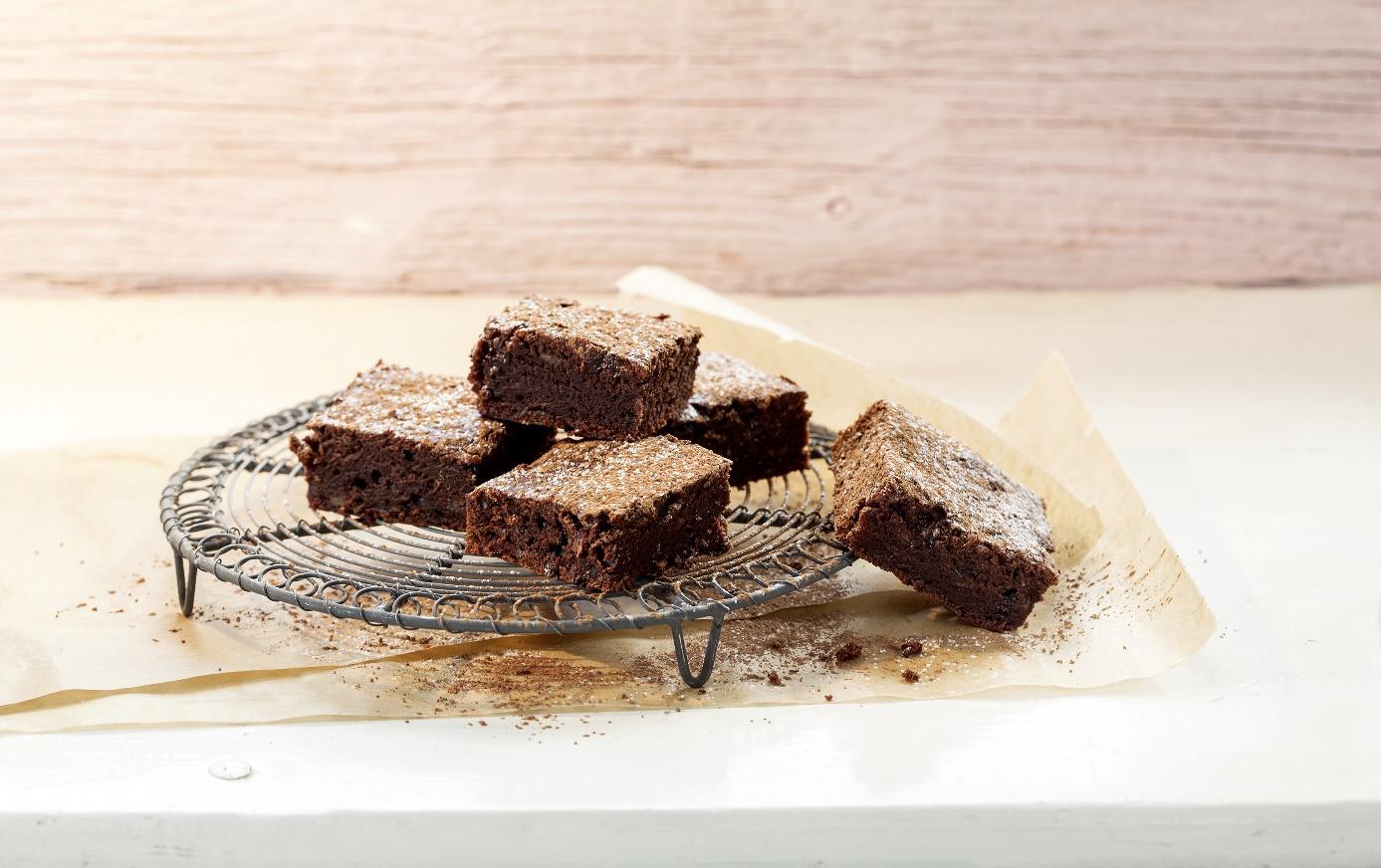 Brownies - gesüßt mit Dattelsirup