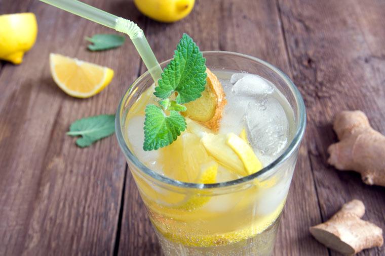 Switchel - das gesunde Sommergetränk aus Apfelessig und Ingwer