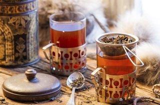 Tee als Muntermacher