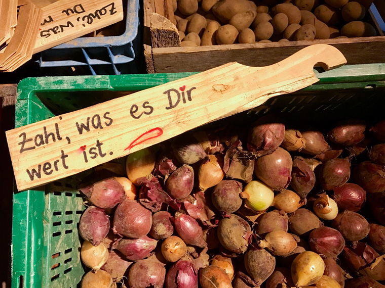 The Good Food ? zahl, was es dir wert ist