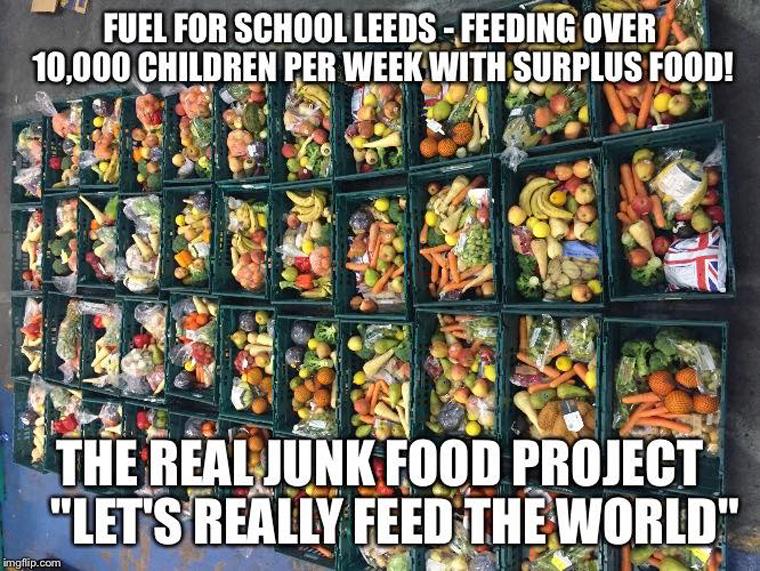 The Real Junk Food Project - gegen Lebensmittelverschwendung