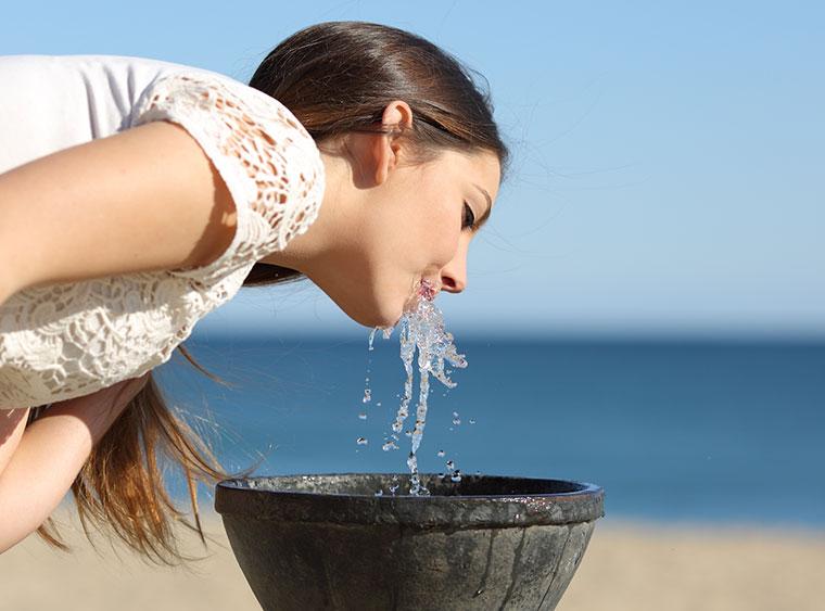 Trinkwasser brauchen wir zum Leben