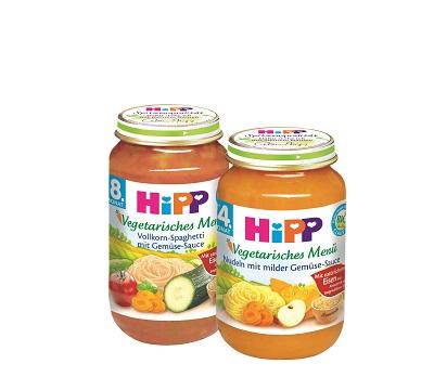 Vegetarische menüs Hipp