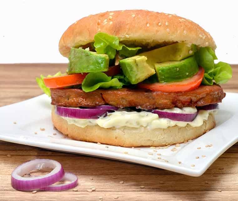 Veggie Burger vom Feinsten