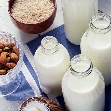 Die fünf besten veganen Milchalternativen im Test