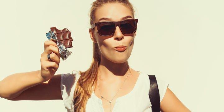 Schokolade mit natürlichem Zucker und Superfood-Potential