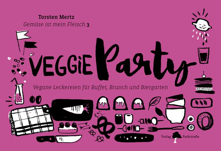 Buch: Veggie Party von Torsten Mertz