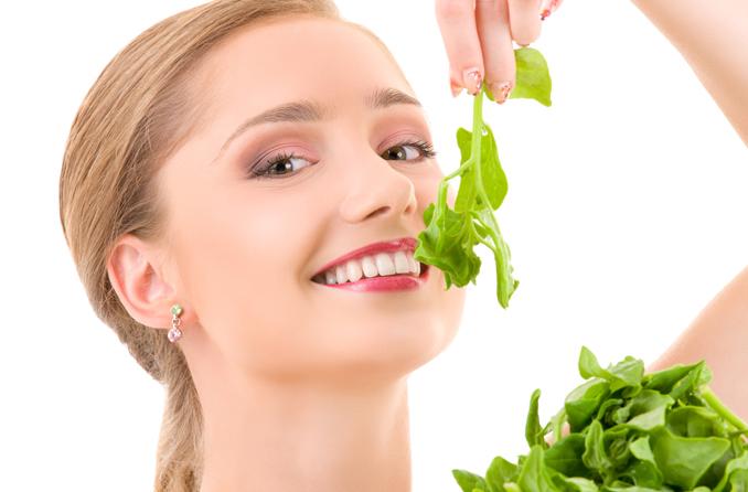 Gemüse macht fit Spinat eco woman