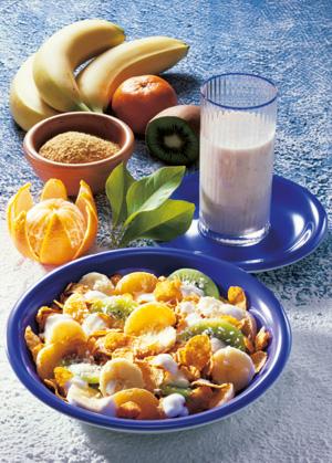 Vitamin Müsli: gesund und lecker