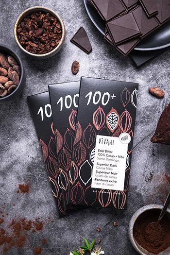 Vivani Edel Bitter Schokolade