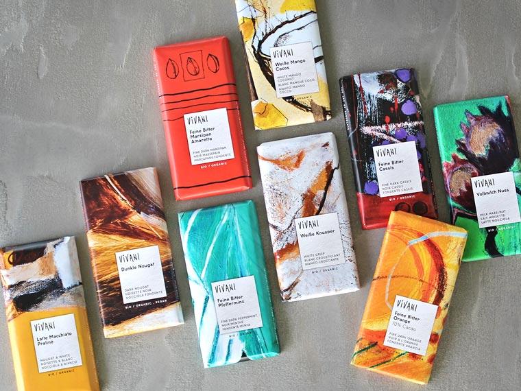 VIVANI Schokoladensorten