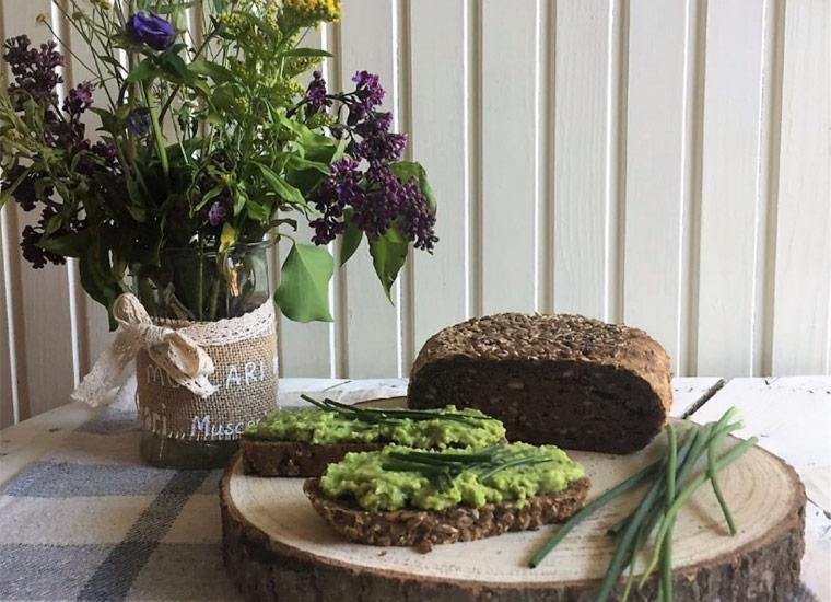 Mehle im Test: Protein-Brot mit Walnuss- und Leinmehl