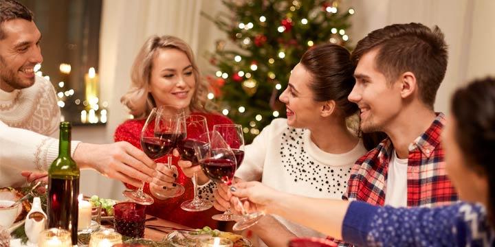 Ein klassischer Dreigänger als Weihnachtsmenü