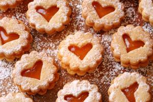 Traditionelles Weihnachtsgebäck.Weihnachten Traditionelle Plätzchen Rezepte