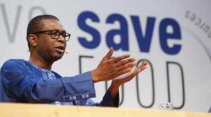 Youssou N'Dour bei seiner Keynote ©Messe Düsseldorf/Initiative Save Food