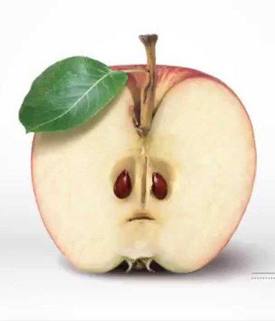 Wer Äpfel wegwirft, fördert den Klimawandel